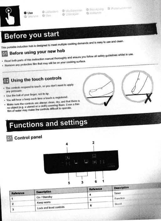 Instructions Carrow Cullen